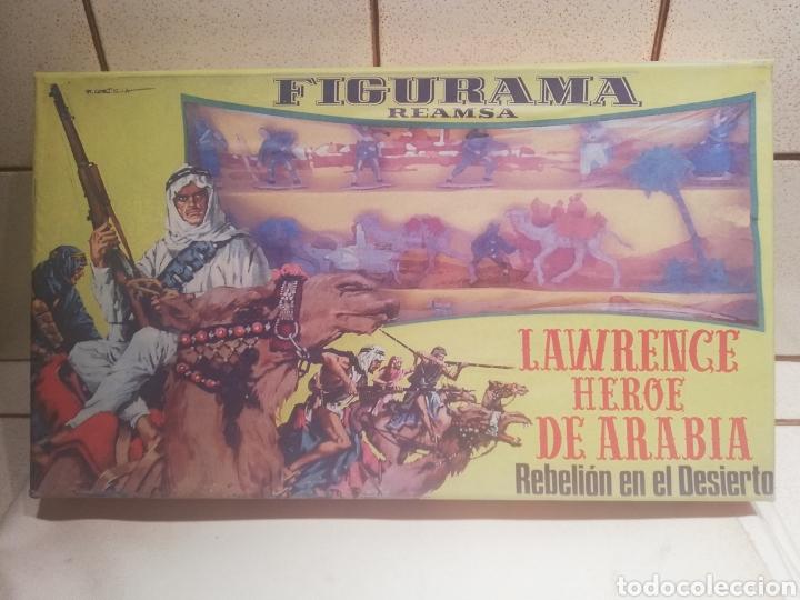 Figuras de Goma y PVC: Reamsa caja Lawrence de arabia - Foto 3 - 188743493