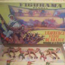 Figuras de Goma y PVC: REAMSA CAJA LAWRENCE DE ARABIA. Lote 188743493
