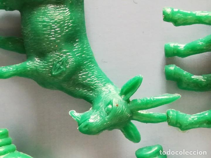 Figuras de Goma y PVC: LOTE FIGURAS DE PLÁSTICO GRANJA DUNKIN - Foto 11 - 188801218