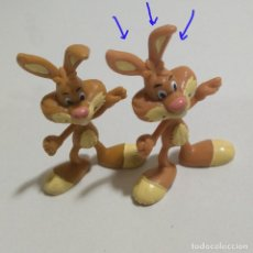 Figuras de Goma y PVC: LEER** FIGURA PVC GOMA MASCOTA MINIATURA NESQUIK QUICKY CONEJO MUÑECO FIGURITA PROMO 90. Lote 189077856