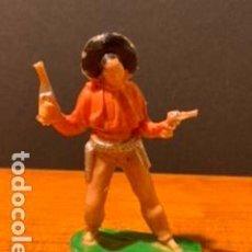Figuras de Goma y PVC: ANTIGUA FIGURA, VAQUERO, TIPO COMANSI, MEDIDAS 7 CM, AÑOS 60. Lote 189116651