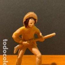 Figuras de Goma y PVC: ANTIGUA FIGURA, VAQUERO, TIPO COMANSI, MEDIDAS 6 CM, AÑOS 60. Lote 189117236