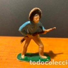 Figuras de Goma y PVC: ANTIGUA FIGURA, VAQUERO, TIPO COMANSI, MEDIDAS 6 CM, AÑOS 60. Lote 189118360