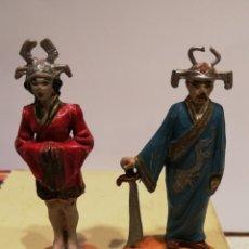 Figuras de Goma y PVC: JECSAN CIRCO MAGO CHINO Y AYUDANTE. Lote 189232513