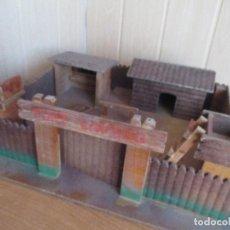 Figuras de Goma y PVC: ANTIGUO FUERTE DEL OESTE EN MADERA FORT LAREDO, ( SENDRA ,PECH, JECSAN , REAMSA , COMANSI , ETC). Lote 189388071