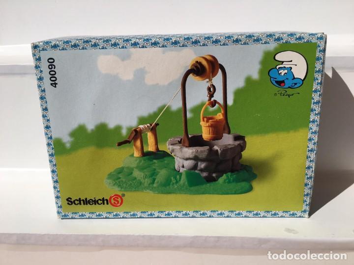 POZO DE LOS PITUFOS 1994 EN CAJA - PEYO - SCHLEICH - PITUFOS (Juguetes - Figuras de Goma y Pvc - Schleich)