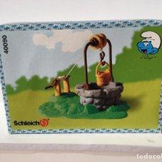 Figuras de Goma y PVC: POZO DE LOS PITUFOS 1994 EN CAJA - PEYO - SCHLEICH - PITUFOS. Lote 189584605