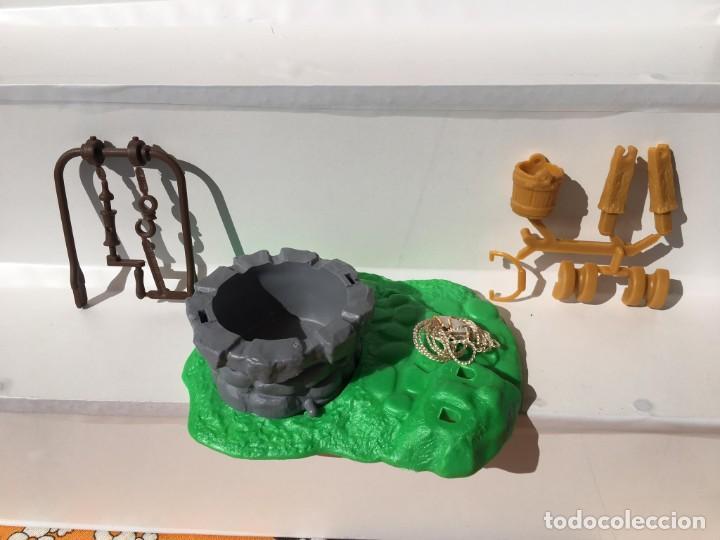 Figuras de Goma y PVC: POZO DE LOS PITUFOS 1994 EN CAJA - PEYO - SCHLEICH - PITUFOS - Foto 3 - 189584605