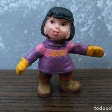 Figuras de Goma y PVC: FIGURA PVC CHICA SERIE SEABERT SCHLEICH NUEVA!. Lote 189698878