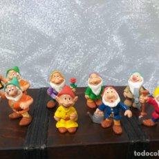Figuras de Goma y PVC: LOTE 8 FIGURAS PVC DISNEY 7 ENANITOS MÁS UNA VARIANTE DE COLOR. Lote 189788766