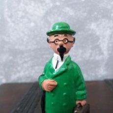 Figuras de Borracha e PVC: FIGURA PVC SERIE TIN TIN PROFESOR TORNASOL SIN MARCA VINTAGE AÑOS 80 EPOCA COMICS SPAIN. Lote 189791012