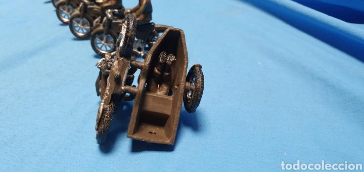 Figuras de Goma y PVC: Figuras moto sidecar militar soldado Teixido - Foto 9 - 189823391