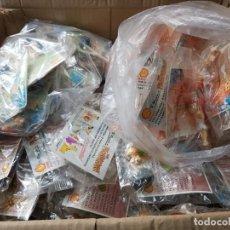 Figuras de Goma y PVC: ESPECTACULAR LOTE FIGURAS GOMA SHELL EN BLISTER SIN ABRIR LOTE 131 FIGURAS. Lote 190056256