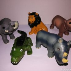 Figuras de Goma y PVC: LOTE FIGURAS ANIMALES PVC. Lote 190076466