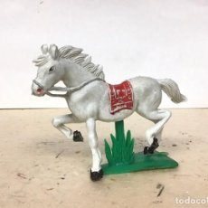 Figuras de Goma y PVC: FIGURA CABALLO JECSAN INDIO OESTE WESTERN COWBOY NO LAFREDO COMANSI REAMSA PECH . Lote 190102846