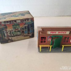 Figuras de Goma y PVC: POST OFFICE CON CAJA - OESTE CITY JECSAN. Lote 190146432