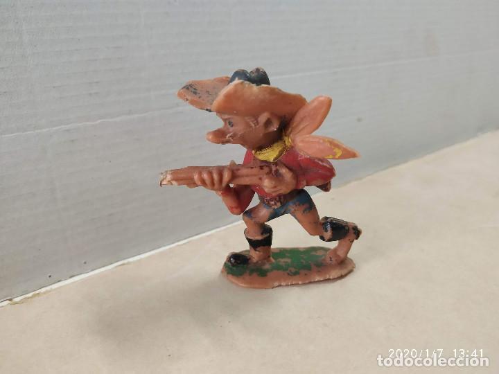 FIGURA DE PLÁSTICO VAQUERO BOYBIS JECSAN (Juguetes - Figuras de Goma y Pvc - Jecsan)
