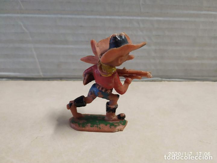 Figuras de Goma y PVC: FIGURA DE PLÁSTICO VAQUERO BOYBIS JECSAN - Foto 2 - 190146858