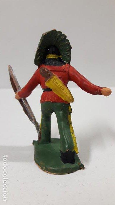 Figuras de Goma y PVC: GUERRERO INDIO . FIGURA REAMSA Nº 69 . AÑOS 50 EN GOMA - Foto 2 - 190160812