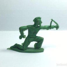 Figuras de Goma y PVC: INDIO DE STARLUX. Lote 190222295