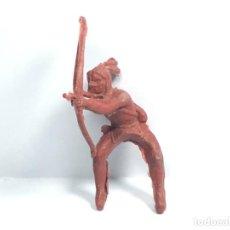 Figuras de Goma y PVC: INDIO DE STARLUX ?. Lote 190222672