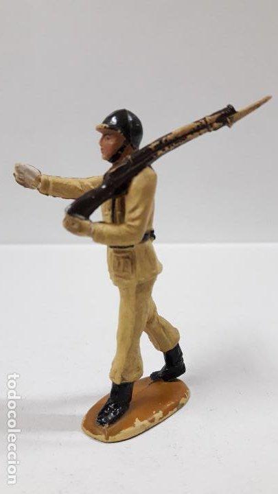 Figuras de Goma y PVC: SOLDADO DE INFANTERIA - DESFILE . REALIZADO POR TEIXIDO . AÑOS 50 EN GOMA - Foto 6 - 190231021