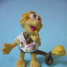 Figuras de Goma y PVC: FRAGGLE ROCK LOS FRAGUEL DUDO FIGURA DE PVC SCHLEICH HENSON 1983. Lote 190235146