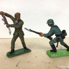 Figuras de Goma y PVC: INGLES ALEMAN MADE IN ENGLAND BRITAINS CRESCENT NO PECH REAMSA COMANSI SOLDADOS MUNDO JECSAN . Lote 190392981