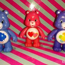 Figuras de Goma y PVC: BONITO LOTE DE 3 OSOS AMOROSOS-CARE BEARS. Lote 190394818