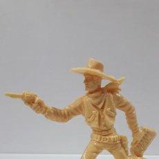 Figuras de Goma y PVC: VAQUERO - COWBOY . REALIZADO POR LAFREDO . SERIE GRANDE . AÑOS 60 . EN PLASTICO MONOCOLOR. Lote 190406460