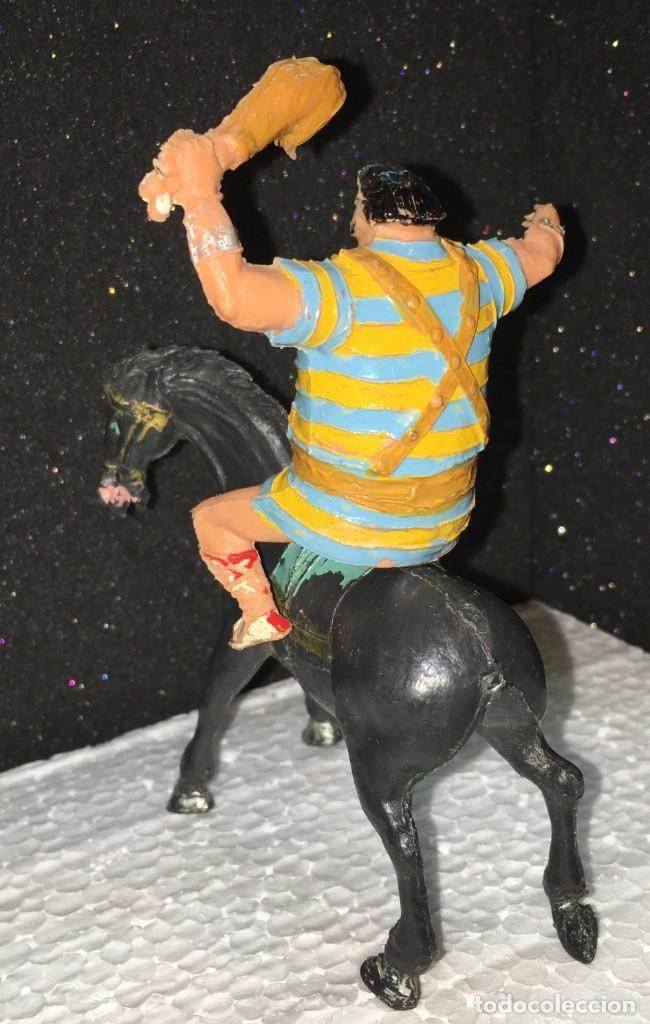 Figuras de Goma y PVC: GOLIAT A CABALLO - Foto 2 - 190500767