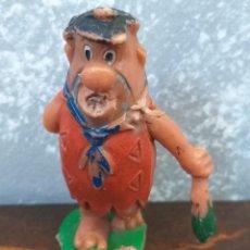 Figuras de Goma y PVC: ANTIGUA FIGURA SERIE LOS PICAPIEDRA CASA JECSAN EPOCA REAMSA PECH TEIXIDO COMANSI. Lote 190507868
