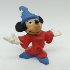 Figuras de Goma y PVC: MICKEY MOUSE APRENDIZ DE MAGO DE DISNEY FANTASÍA. Lote 190626452