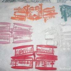 Figuras de Goma y PVC: MONTAPLEX-LOTE DE COLADAS TAL CUAL SALIO DEL MOLDE BARCOS Y AVIONES AÑOS 70-80. Lote 190626938
