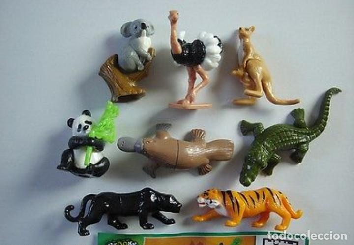 COLECCIÒN COMPLETA ANIMALES ADULTOS NATTONS FT KINDER 2013 MUY BONITOS PARA COLECCIÓN!! DIFÍCILES!! (Juguetes - Figuras de Gomas y Pvc - Kinder)