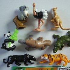 Figuras Kinder: COLECCIÒN COMPLETA ANIMALES ADULTOS NATTONS FT KINDER 2013 MUY BONITOS PARA COLECCIÓN!! DIFÍCILES!!. Lote 190725798