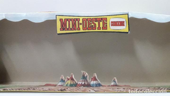 Figuras de Goma y PVC: CAJA ORIGINAL DE MINI OESTE . INDIOS - REF 105 . REALIZADA POR COMANSI . AÑOS 60 - Foto 13 - 190736555
