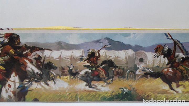 Figuras de Goma y PVC: CAJA ORIGINAL DE MINI OESTE . INDIOS - REF 105 . REALIZADA POR COMANSI . AÑOS 60 - Foto 17 - 190736555