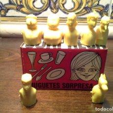 Figuras de Goma y PVC: LA FAMILIA ULISES TIPO DUNKIN CAPUCHONES DE LAPIZ EN SU CAJITA. Lote 190838802