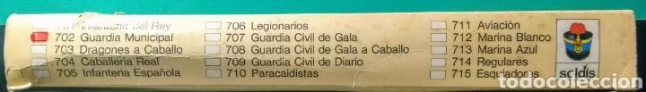 Figuras de Goma y PVC: 6 Soldados y 6 caballos. Soldis de Gomarsa. Años 70. - Foto 3 - 190880045