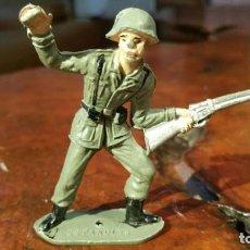Figuras de Goma y PVC: COMANSI EJERCITOS DEL MUNDO SOLDADO ESPAÑOL AÑOS 70 MADE IN SPAIN. Lote 190934973