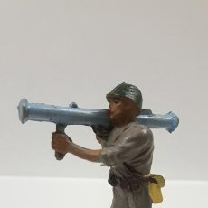 Figuras de Goma y PVC: MARINE AMERICANO . REALIZADO POR PECH . AÑOS 50 EN GOMA. Lote 190996696