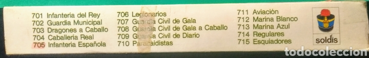 Figuras de Goma y PVC: 13 Soldados en caja. Soldis de Gomarsa. Años 70. - Foto 3 - 191007381