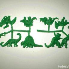 Figuras de Goma y PVC: MONTAPLEX COLADA ANIMALES PREHISTÓRICOS DINOSAURIOS DEL SOBRE Nº 223 - CON LA FIGURA DEL TROGLODITA. Lote 191086435