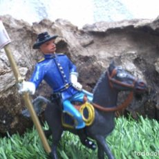 Figuras de Borracha e PVC: SOLDADO DE LA BATALLA DEL LITTER BING HON DE COMANSI. Lote 191115691