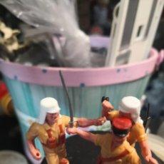 Figuras de Borracha e PVC: TIMPO TOYS LOTE DE 2 SOLDADOS LEGION FRANCESA.ORIGINALES. Lote 191151756