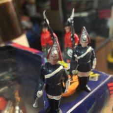 Figuras de Goma y PVC: 4 FIGURAS PLÁSTICO BRITAIN TIMPO . Lote 191154878