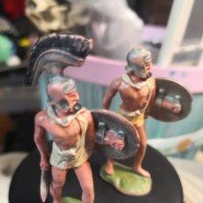 Figuras de Goma y PVC: 2 FIGURAS ROMANA BRITAIN TIMPO . Lote 191156100