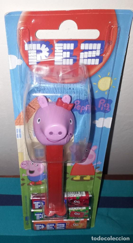 Dispensador Pez: DISPENSADOR CARAMELOS PEZ PEPPA PIG - Foto 1 - 191182323
