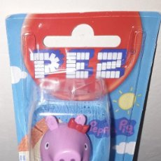 Dispensador Pez: DISPENSADOR CARAMELOS PEZ PEPPA PIG. Lote 191182323